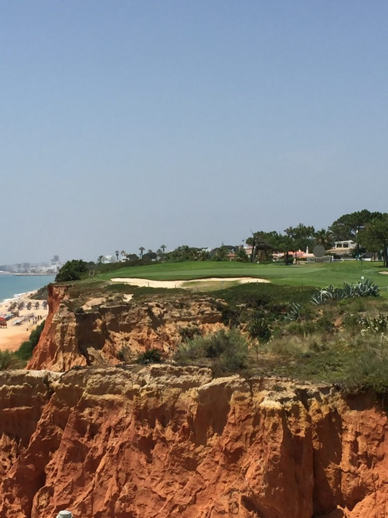 You have the whole of the Atlantic to your left when you're on the 16th tee of the Royal Course at Vale do Lobo